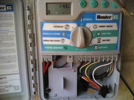 setting up a reticulation controller for a bore brighton. Black Bedroom Furniture Sets. Home Design Ideas